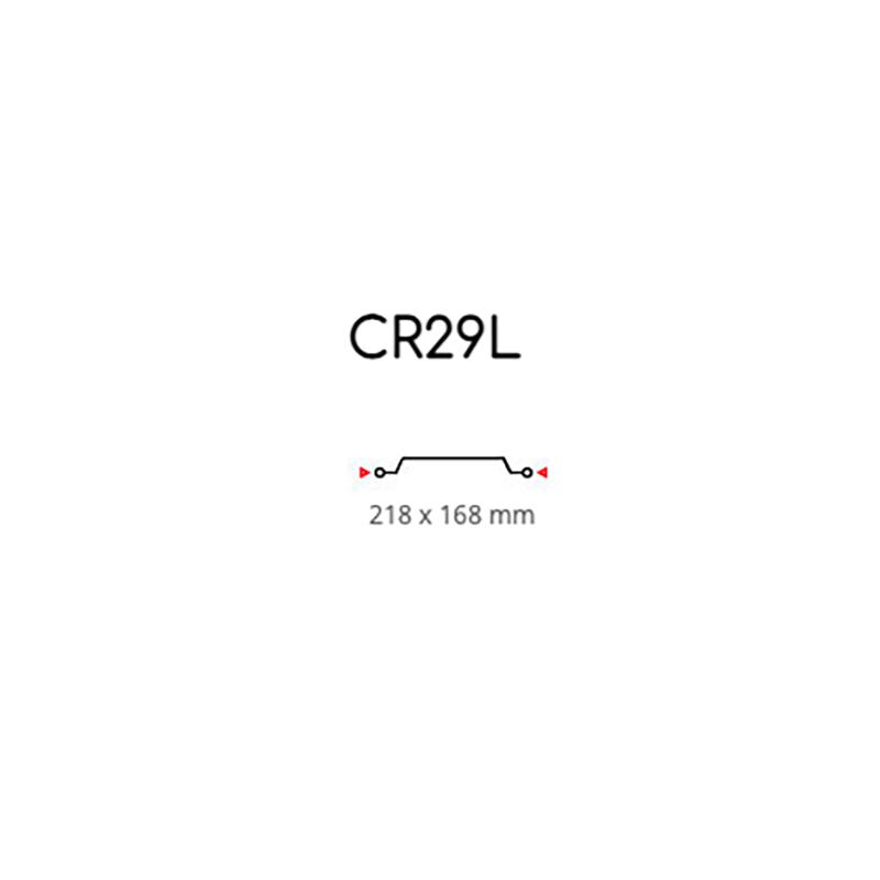 Contenitore con Coperchio 4 Porzioni R29L Pz. 50
