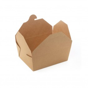 Box Kraft/PLA cm.17,2X13,7h6,5 ml.1000 Pezzi 50 ( 580002 )