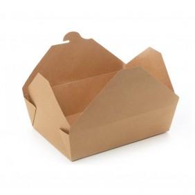 Box Kraft/PLA cm.21,5X16,2h6,4 ml.1500 Pezzi 50 ( 580003 )