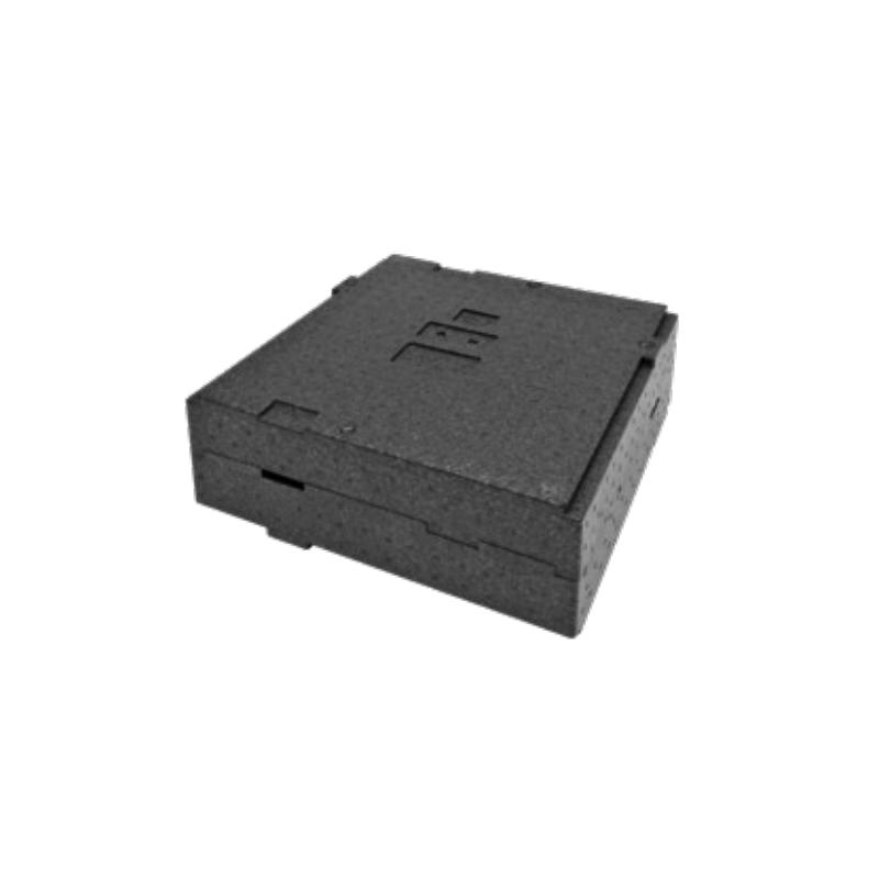 Polibox Base o Coperchio Genius cm.35X35 PPE nero