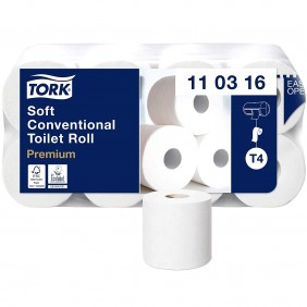 Tork Rotolo carta igienica Premium Soft, 3 veli 110316