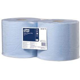 Tork Carta 2 Veli per asciugatura 2x800 strappi Blu/Bianc